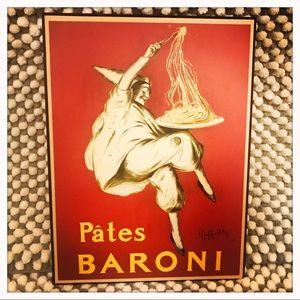 Vintage French Advertisement Art